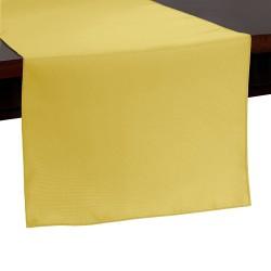 Tablecloth Runner Polyester 14 X 120 Inch Lemon Broward Linens