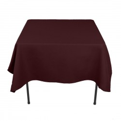 Tablecloth Square 90 Inch Brown By Broward Linens