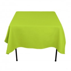 Tablecloth Square 90 Inch Yellow By Broward Linens