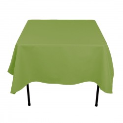 Tablecloth Square 72 Inch Apple Green By Broward Linens