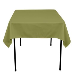 Tablecloth Square 36 Inch Apple Green By Broward Linens