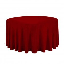 Tablecloth Round 90 Inch Coral By Broward Linens