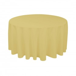 Tablecloth Round 90 Inch Cranberry By Broward Linens