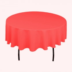 Tablecloth Round 54 Inch Charcoal By Broward Linens